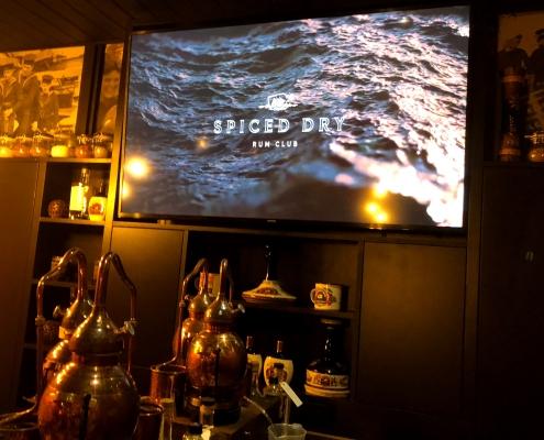 Laki Kane spiced dry rum club