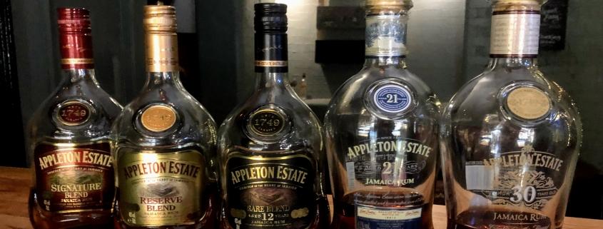 Appleton tasting